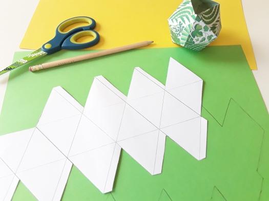 Anleitung Papier Faltboxen