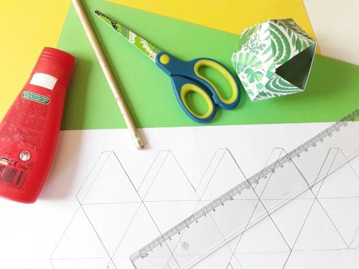 Material für Faltboxen DIY